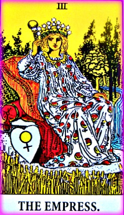 Empress in Rider Waite Tarot