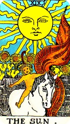 Rider Waite Tarot-The Sun
